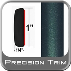 "1"" Wide Green (Dark) Molding Trim (PT92) Sold by the Foot Precision Trim® #11100-92-01"