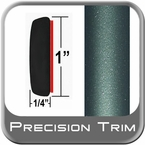 "1"" Wide Green (Dark) Molding Trim (PT78) Sold by the Foot Precision Trim® #11100-78-01"