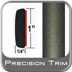 "1"" Wide Green (Olive) Molding Trim (PT26) Sold by the Foot Precision Trim® #11100-26-01"