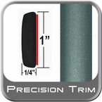 "1"" Wide Green Molding Trim (PT05) Sold by the Foot Precision Trim® #11100-05-01"