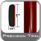 "1"" Wide Red (Dark) Molding Trim (PT31) Sold by the Foot Precision Trim® #11100-31-01"