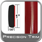 "1"" Wide Red (Dark) Molding Trim (PT42) Sold by the Foot Precision Trim® #11100-42-01"