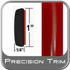 "1"" Wide Molding Trim Red (PT88) Sold by the Foot Precision Trim® #11100-88-01"