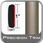 "1"" Wide Tan Molding Trim (PT96) Sold by the Foot Precision Trim® #11100-96-01"