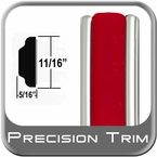 "11/16"" Wide Molding Trim (PT88) Sold by the Foot Precision Trim® #3100-88-01"