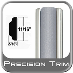 "11/16"" Wide Molding Trim (PT22) Sold by the Foot Precision Trim® #3100-22-01"