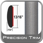 """7/8"""" Wide Gray (Light) Molding Trim ( PT91 ), Sold by the Foot, Precision Trim® # 40100-91-01"""