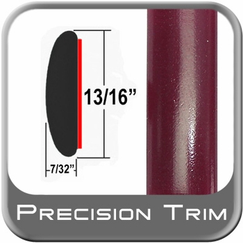 "13/16"" Wide Red (Dark) Molding Trim (PT65) Sold by the Foot Precision Trim® #40100-65-01"