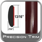 "7/8"" Wide Red (Dark) Molding Trim ( PT72 ), Sold by the Foot, Precision Trim® # 40100-72-01"