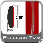 "7/8"" Wide Red Molding Trim ( PT61 ), Sold by the Foot, Precision Trim® # 40100-61-01"