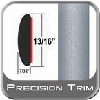 "13/16"" Wide Silver Molding Trim (PT22) Sold by the Foot Precision Trim® #40100-22-01"