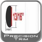 """13/16"""" Wide Molding Trim (PT12) Sold by the Foot Precision Trim® #40100-12-01"""