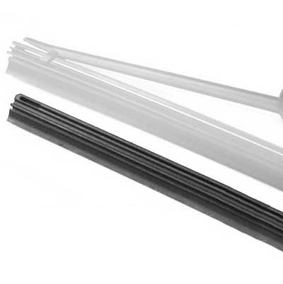 "Toyota Previa Wiper Blade Refill 1994-1997 Single Wiper Insert ""C"" Style, 700mm (27-1/2"") long Synthetic Rubber Sold Individually Genuine Toyota #85214-YZZC0"