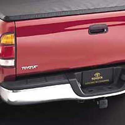 Toyota Tacoma Truck Rear Bumper 1995-2004 Chrome Step Style Genuine Toyota #00228-35981-13