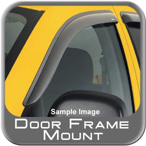 GMC S15 Jimmy Rain Guards / Wind Deflectors 1995-2005 Ventvisor Dark Smoke Acrylic Front Pair Auto Ventshade AVS #92127