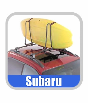 1995-2005 Subaru Kayak Rack Roof Mount Style Can Accomodate 2 Kayaks Excluding Ocean Kayaks Genuine Subaru #E3610AS190