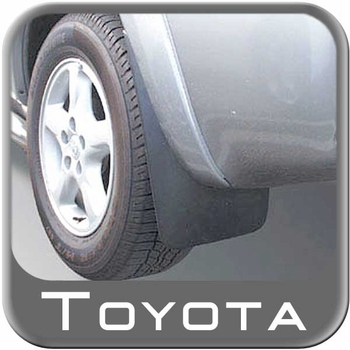 Toyota 4Runner Mud Flaps 1996-2002 Rear Pair Black Rear Pair Genuine Toyota #76625-39475-PK1