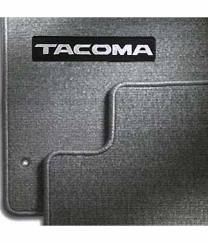 new 1996 2004 toyota tacoma carpeted floor mats from brandsport auto parts toy pt206 35010 11. Black Bedroom Furniture Sets. Home Design Ideas