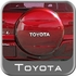 """Toyota RAV4 Spare Tire Cover 1996-2013 Hard Cover Style Impulse Red Pearl Color Code 3P1 Fits 16"""" Spare Genuine Toyota #64771-42060-D0"""