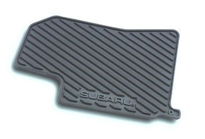 Subaru Forester Rubber Floor Mats 1998-2002 All-Weather Black 4-piece Set Genuine Subaru #J5010FS500