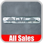1999-2007 GMC Truck Third Brake Light Cover Polished Aluminum Finish w/ GMC Cutout Sold Individually All Sales #94011P