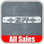 1999-2007 GMC Truck Third Brake Light Cover Polished Aluminum Finish w/ Z71 Cutout Sold Individually All Sales #94010P