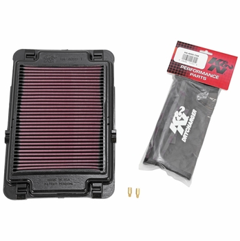 1999-2014 Powerlid Airbox Cover Air Filter K&N #HA-4099-T