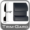 """2-1/2"""" Wide Black Body Side Molding Sold by the Foot, Trim Gard® # CV92-01"""