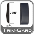 "2-7/16"" Wide Black (Gloss) Body Side Molding Sold by the Foot Trim Gard® #FD02-02-01"