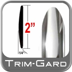 "2"" Wide Chrome Body Side Molding Two 8' Strips Trim Gard® #99GT-01-K1"