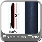 "2"" Wide Blue (Dark) Molding Trim (PT35) Sold by the Foot Precision Trim® #1490-35-01"