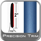 """2"""" Wide Blue Molding Trim (PT07) Sold by the Foot Precision Trim® #1490-07-01"""