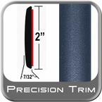 """2"""" Wide Blue Molding Trim (PT13) Sold by the Foot Precision Trim® #1490-13-01"""