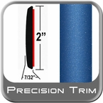"2"" Wide Blue Molding Trim (PT41) Sold by the Foot Precision Trim® #1490-41-01"
