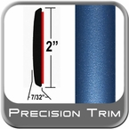 "2"" Wide Blue Molding Trim (PT81) Sold by the Foot Precision Trim® #1490-81-01"