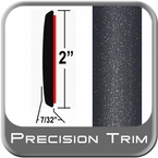"2"" Wide Gray (Dark) Molding Trim (PT08) Sold by the Foot Precision Trim® #1490-08-01"