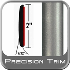 """2"""" Wide Gray Molding Trim (PT57) Sold by the Foot Precision Trim® #1490-57-01"""