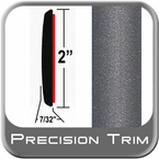 "2"" Wide Gray Molding Trim ( PT83 ), Sold by the Foot, Precision Trim® # 1472-83-01"
