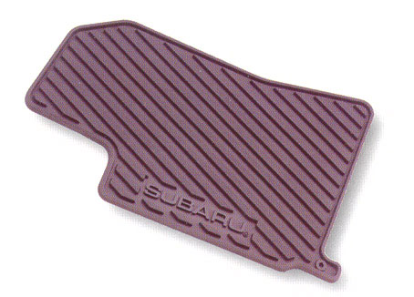 2000-2007 Subaru Impreza Rubber Floor Mats All-Weather Black 4-piece Set Genuine Subaru #J5010SS400