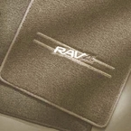 Toyota RAV4 Carpeted Floor Mats 2001-2003 Taupe (Light Tan) 4-Piece Set Genuine Toyota #PT208-42021-15