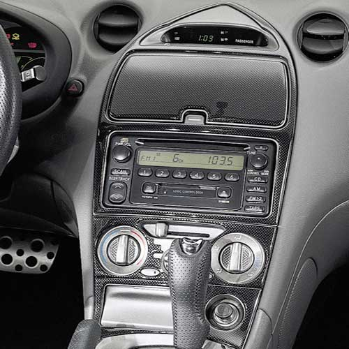 New 2001 2004 Toyota Celica Carbon Fiber Dash Kit From Brandsport Auto Parts Toy Pts02 20030