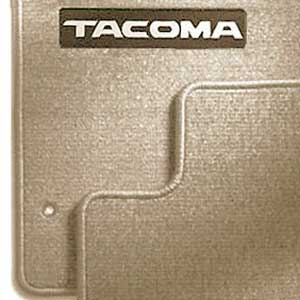 new 2001 2004 toyota tacoma carpeted floor mats from brandsport auto parts toy pt206 35012 16. Black Bedroom Furniture Sets. Home Design Ideas