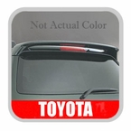 Toyota Highlander Rear Spoiler 2001-2007 Black Color Code 202 Genuine Toyota #08150-48811-C0
