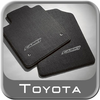 2002 2006 toyota camry carpeted floor mats dark gray. Black Bedroom Furniture Sets. Home Design Ideas