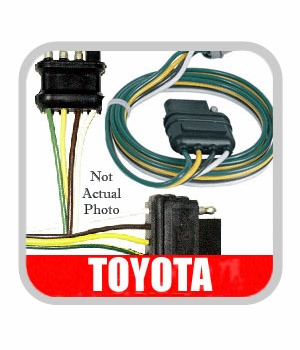 new! 2003 2004 toyota sequoia trailer wiring harness from brandsport green toyota sequoia toyota sequoia trailer wiring harness 2003 2004 7 pin round style genuine toyota 82169