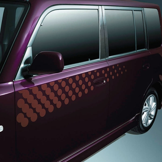 Scion xB Body Graphics 2003-2005 Dots Driver's Side Brown Sold Individually Genuine Scion #PT211-52L41-04