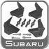 1993-2014 Subaru Roof Rack Load Stabilizers Stabilizing Bracket Kit Genuine Subaru #E3610AS450