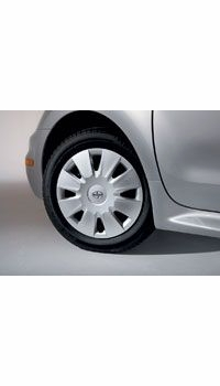 "Scion Wheel Cover 2003-2007 15"" 8 Spoke Style Silver Alloy Look Sold Individually (1 cover) Sold Individually Genuine Toyota #08402-52825"