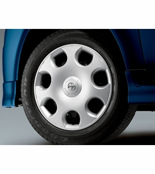 "Scion xB Wheel Cover 2003-2007 15"" 5-Spoke, Round Hole Style Silver Alloy Look Sold Individually (1 cover) Sold Individually Genuine Scion #08402-52804"