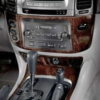 Toyota Land Cruiser Wood Dash Kit 2003-2007 by Acculaser Blackwood Finish Genuine Toyota #PTS02-60031